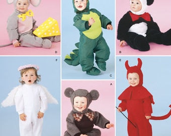 sewing pattern toddler costumes simplicity 2506 dragon costume mouse dinosaur angel - Dragon Toddler Halloween Costume