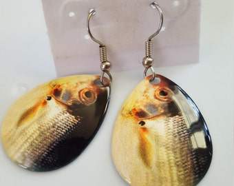 Chub spinner earrings