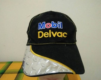 Rare MOBIL DELVAC Cap Hat Free size fit all