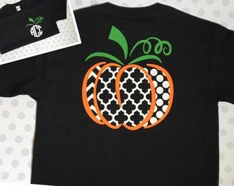 CUSTOM DESIGN ~Pumpkin Shirt ~ Pattern
