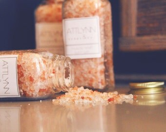 Muscle Relief Bath Salts - Soothing for Sore Muscles, Essential Oil Bath Salt, ATTLYNN soaps and co