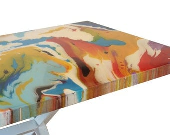 Artistic painting table