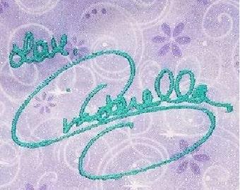 Cinderella Disney Signature