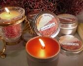 6 oz Travel Tin Candles-Carrot Cake 6 Pack