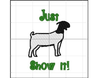 Just show it Goats 4x4