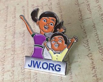 4 pc. jw caleb and sofia metal pins