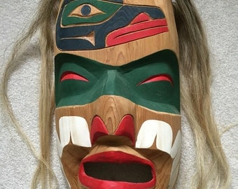 Northwest Territory Raven Mask