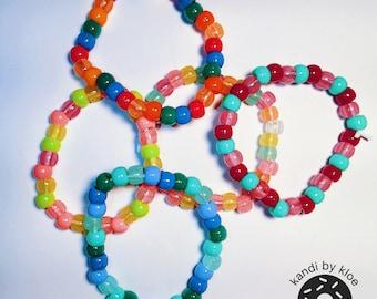 5 Glow in the Dark Kandi Bracelets