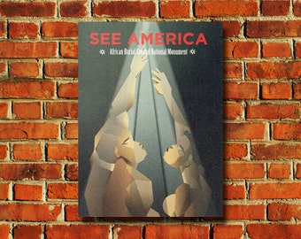 See America Africian Burial Ground Poster - #0659