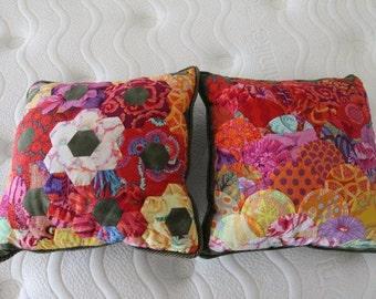 Kaffe Fassett Patchwork Cushion Covers