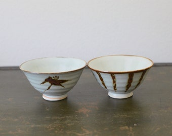 Vintage Hand Painted Ceramic Bowls | Ceramic Pottery