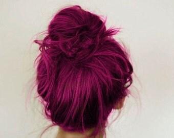 Plum Hair Chalk - Salon Grade - Temporary - Non-Toxic