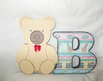 Freestanding Teddy and B