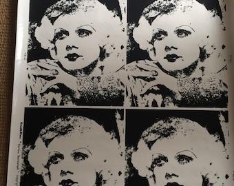 Jean Harlow prints! Free shipping!