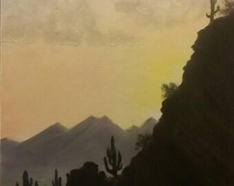 Sunset over Scottsdale, Arizona