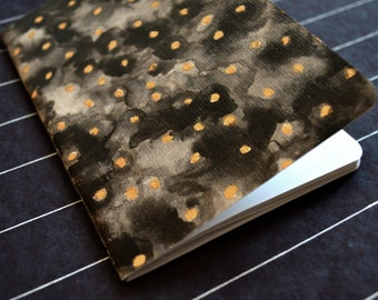 Black and Gold Book handmade