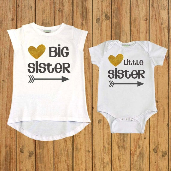 Matching Sibling Shirt Sister Gift big sister by ...