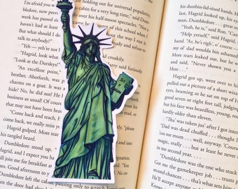 Statue of Liberty America Bookmark