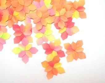 Origami Hydrangea Paper Flowers 100 Paper Hydrangea Flower