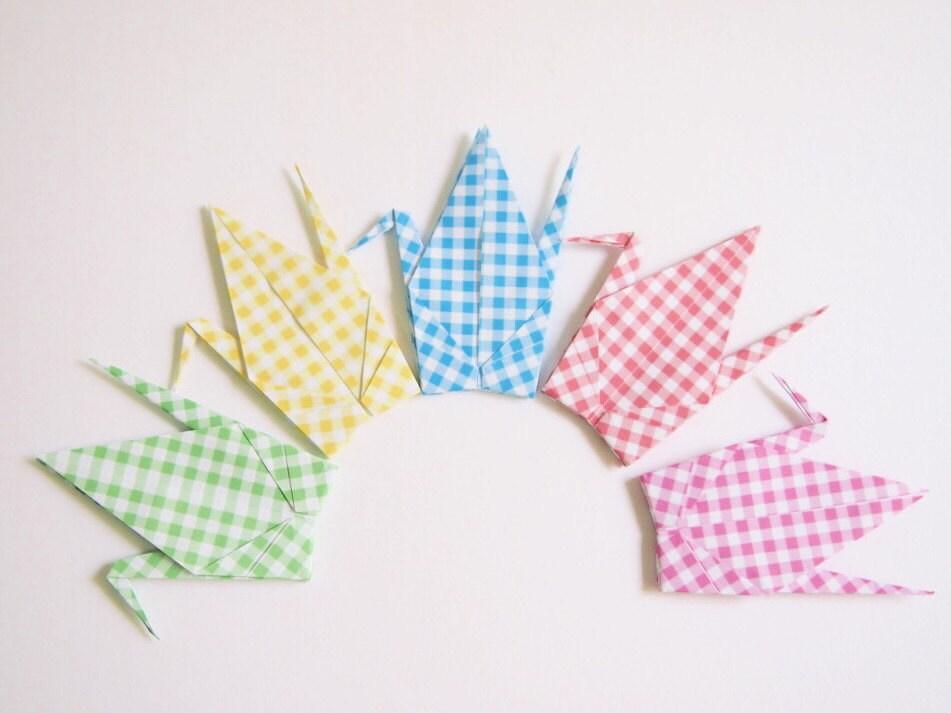 Origami Paper Cranes 100 Large Origami Paper Crane Japanese - photo#41