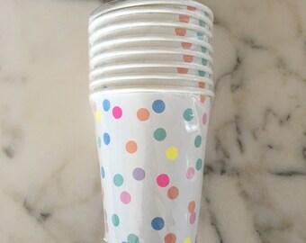 Mini Dot Cups by Meri Meri