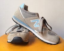 NEW BALANCE Sneakers in Grey and Blue