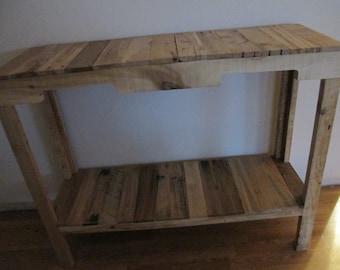 Custom made sofa/entry/tv table