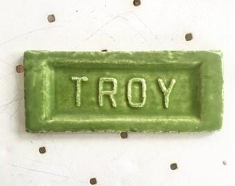 Troy mojo brick granny smith apple green
