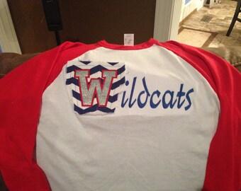 Quarter Sleeve Favorite Team Shirt