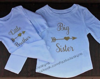 Sibling Set // Big Sister Little Brother Outfit // Coming Home Outfit // Siblings