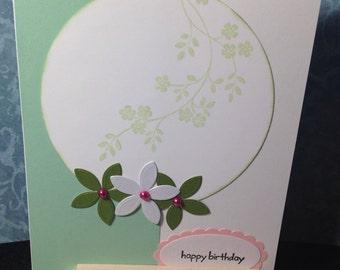 Flower Trio Card