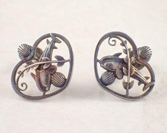 Sterling Silver Georg Jensen Earrings