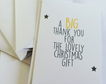 Thank you cards - set of six (A6)