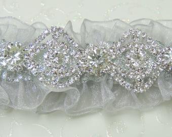 Silver Prom Garter Garters Custom Color