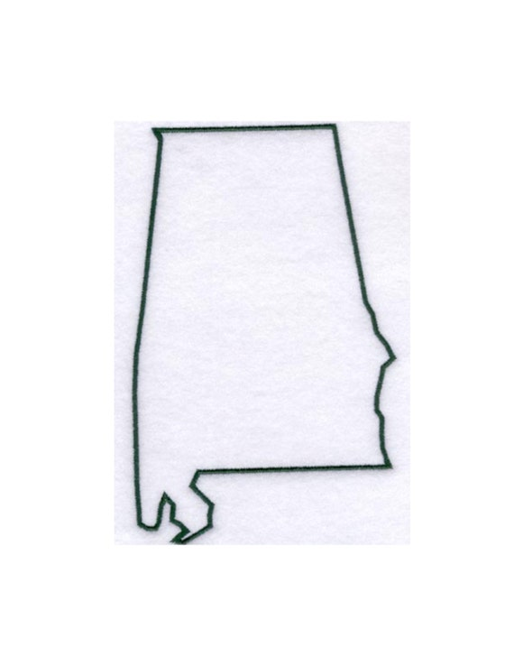 Alabama Stencil Made From 4 Ply Mat Board