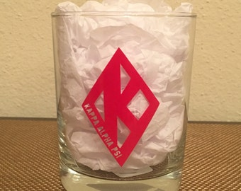 Kappa Alpha Psi Whiskey Glass