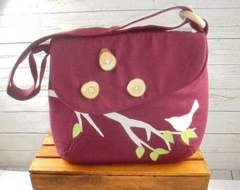 Wine Bird Bag