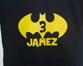 Batman Birthday Shirt