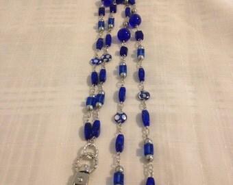 Royal Blue Lanyard