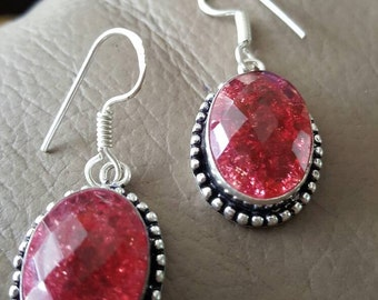 Snakeskin Quartz Earrings!