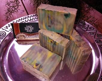 Nag Champa Bar Soap, Bohemian Bath Soaps, Hippie Soap, Gypsy Soaps, Camping Soap, All Natural soap, Outdoor safe soap, Cold Process Soap