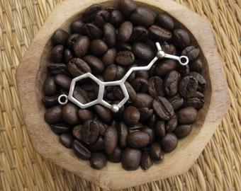Silver necklace 925 - the DMT Molecule