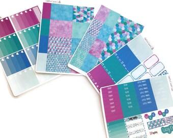 "083-087/ ""Galen"" Weekly Planner Stickers"