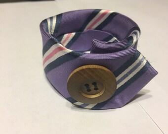 Men's tie bracelet