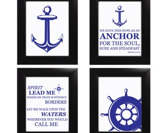 Nautical Print Set