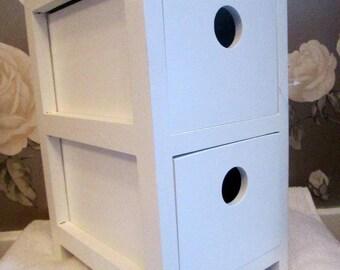 Bathroom 2 drawer storage unit
