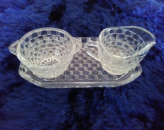 sugar & milk - cut glass
