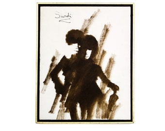 Sale Jean Sardi Painting, Mid Century Oil on Canvas Painting by Jean Sardi