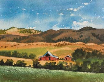 Red Barns 414117