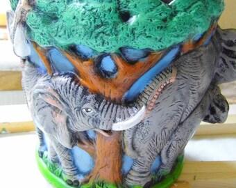 Elephants as planter